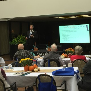 Estate Planning Check-Up lecture at Yorkshire in Edina, Minnesota.